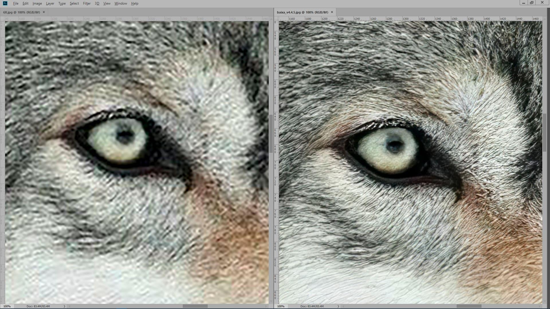 Interpolação Photoshop x Interpolação Instaarts; como ampliar imagem sem perder qualidade