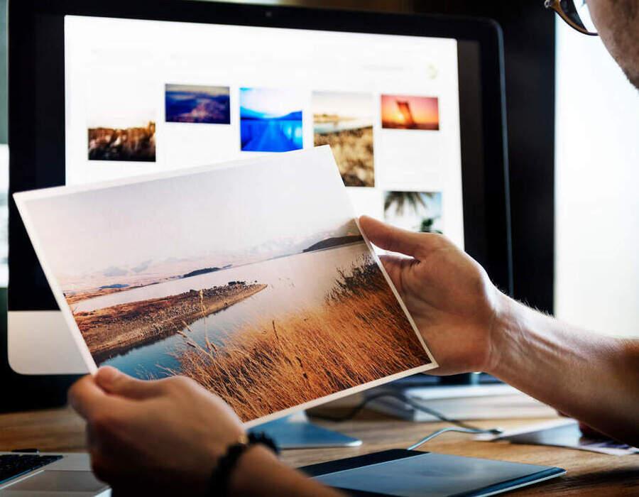 Como transformar uma fotografia em quadro