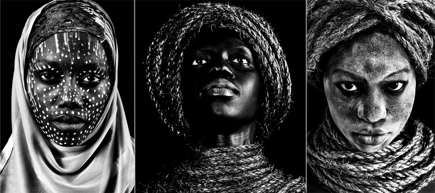 Black faces de Marta Azevedo