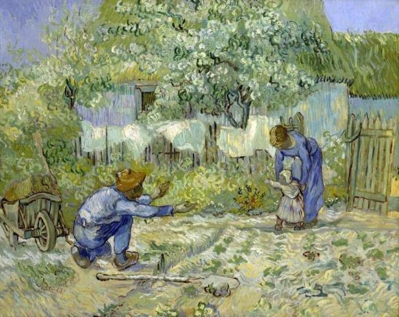primeiros passos de Vincent Vang Gogh