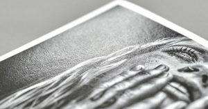 Fine art paper metalic